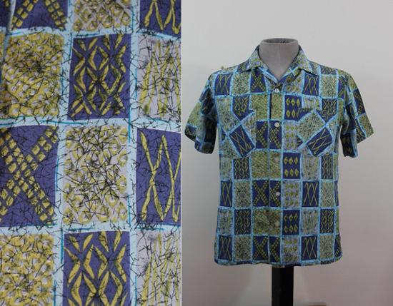 vintage 1960s mens shirt