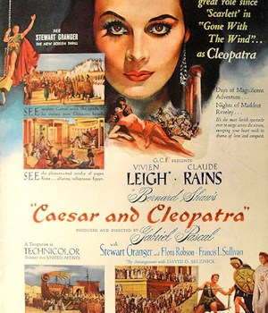 Movie Tuesday: Caesar and Cleopatra (1945)