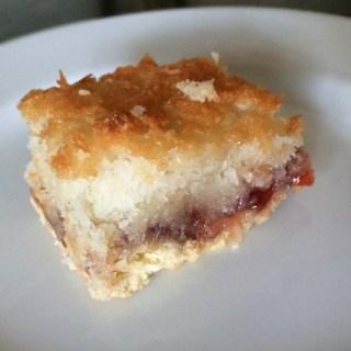 Saturday Baking: Coconut Jam Sandwich Cakes