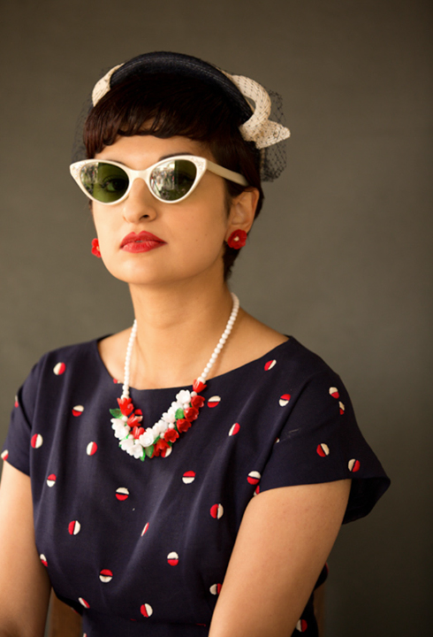 Goodwood Revival 2014's Best Dressed Ladies