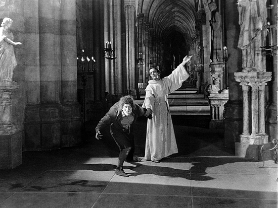 Lon Chaney as The Hunchback of Notredame