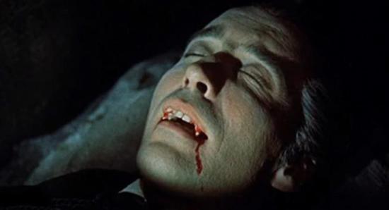 Christopher Lee as Dracula (1958)