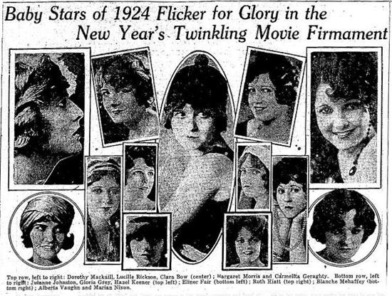 WAMPAS baby stars: 1924