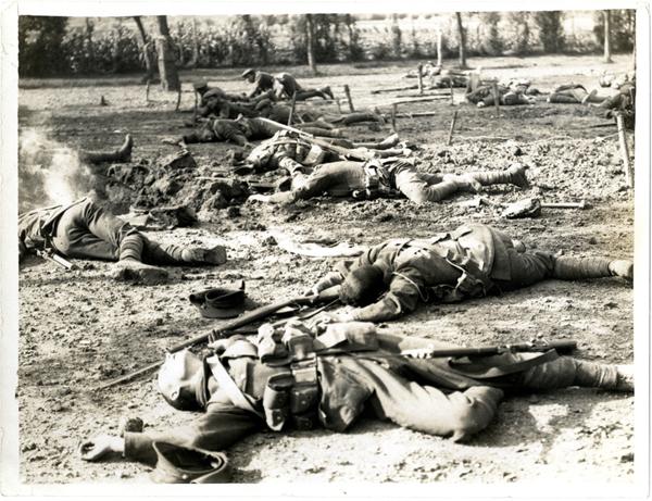 WW1 casualties