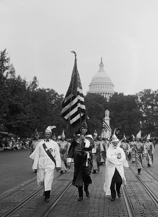 1920s Klu Klux Klan photo