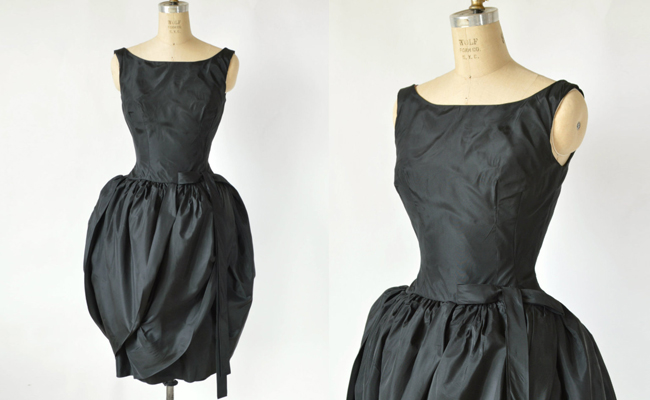 1960s Jonny Herbert Dress