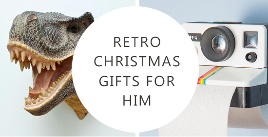 Retro Christmas Gifts for Him