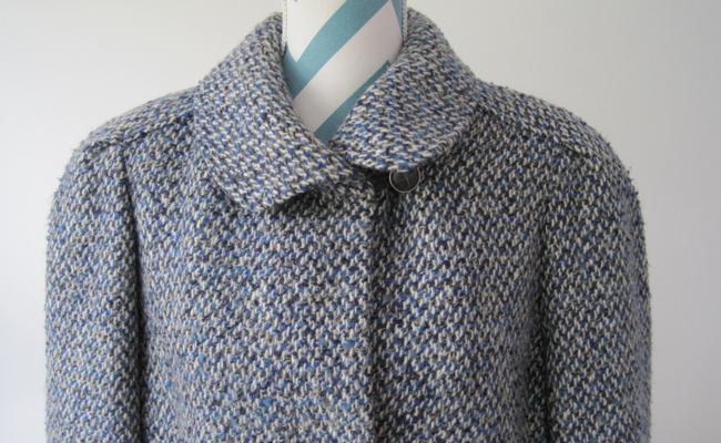 Vintage 1960s Wool Coat Boucle