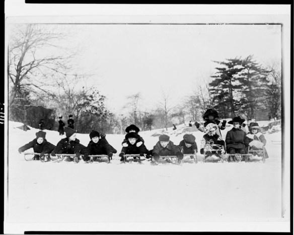 Vintage snow photos