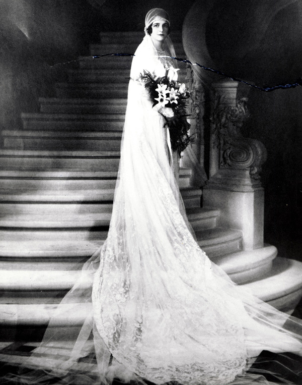 1920s wedding dress