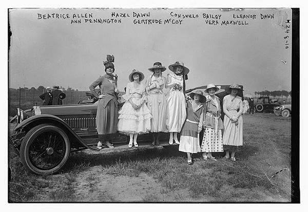 Fashion in 1918