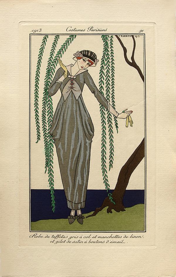 Hobble skirt 1910s