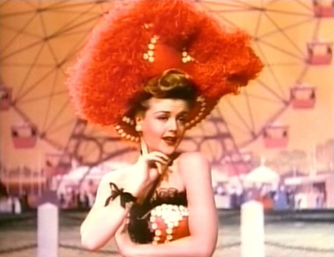 Angela Lansbury in Till The Clouds Roll By