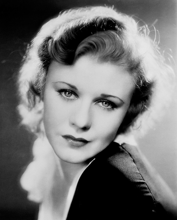 Young Ginger Rogers before she was famous
