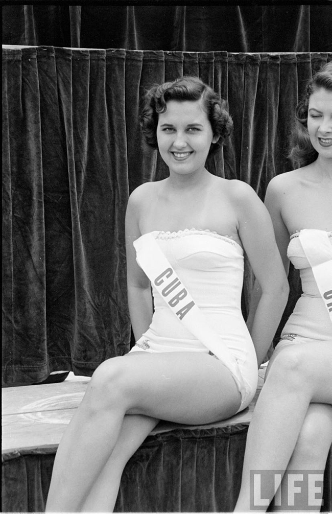 Miss Cuba at Miss Universe 1952