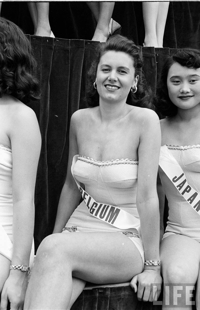 Miss Belgium at Miss Universe 1952
