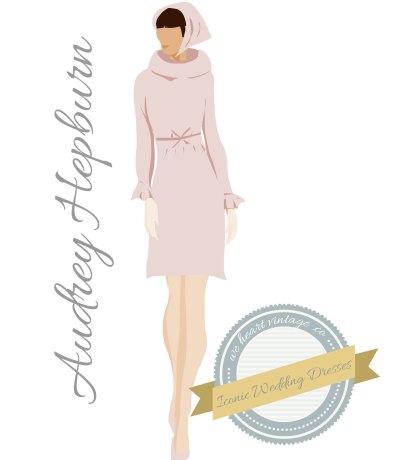 Iconic Wedding Dresses #2: Audrey Hepburn (1969)