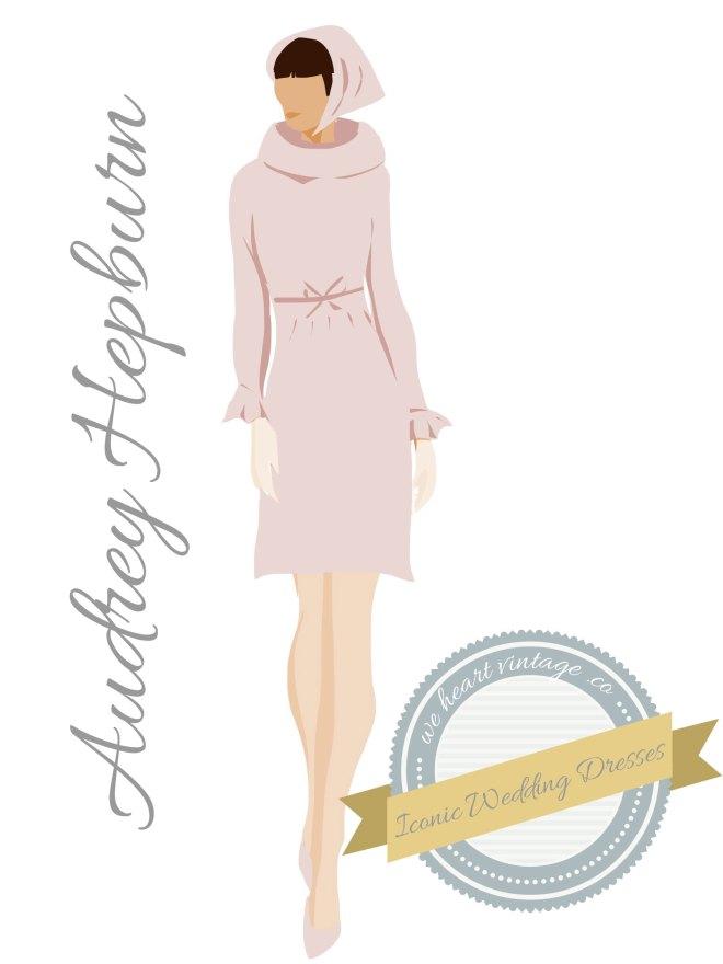 Iconic Wedding Dresses Audrey Hepburn