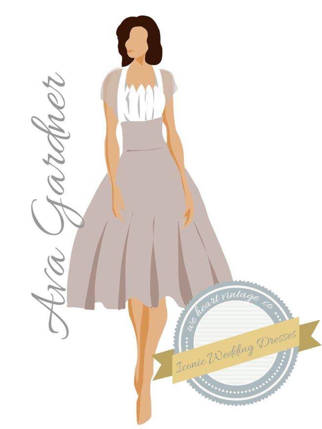 Iconic Wedding Dresses: Ava Gardner