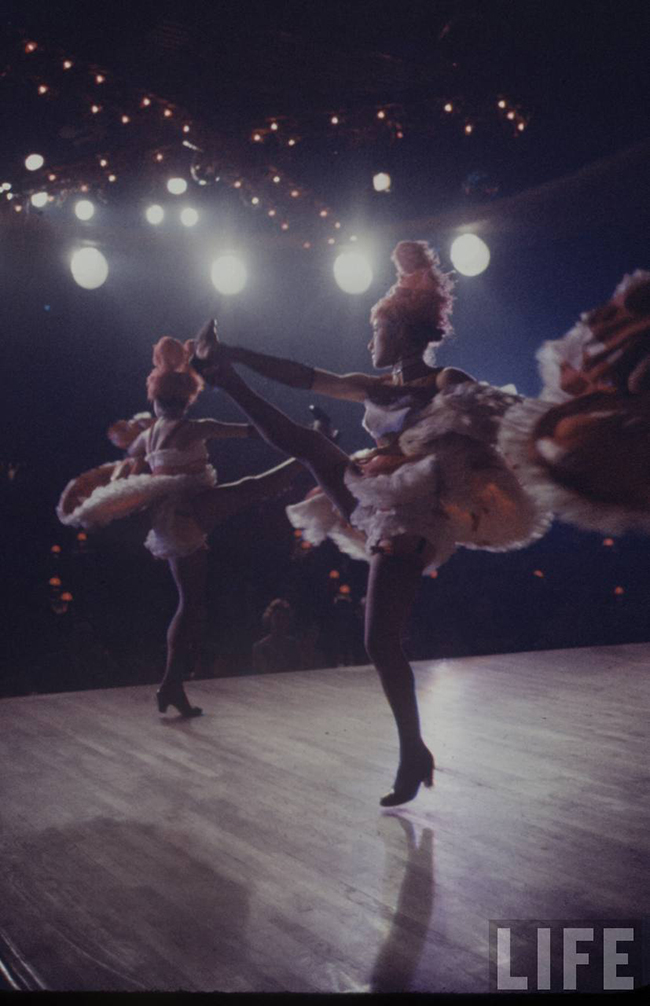 The Can Can Dancers at the Moulin Rouge Vintage photos