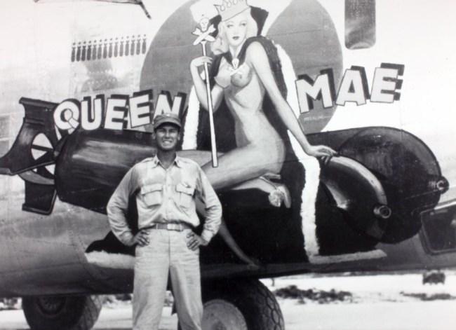 Mae West 1940s Nose Art
