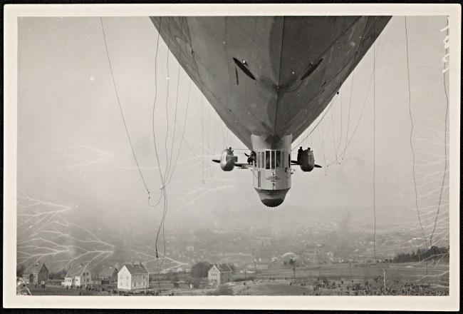 Norwegian airship 1920s