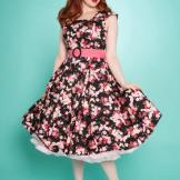 Miss Fortune Swing dress Lady Luck Cherry Blossom