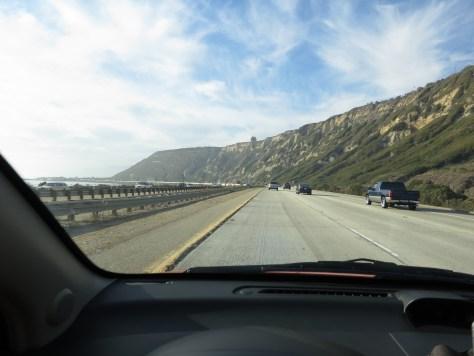 on the way to Santa Barbara