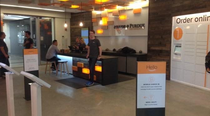Amazon第一間實體店面在Purdue