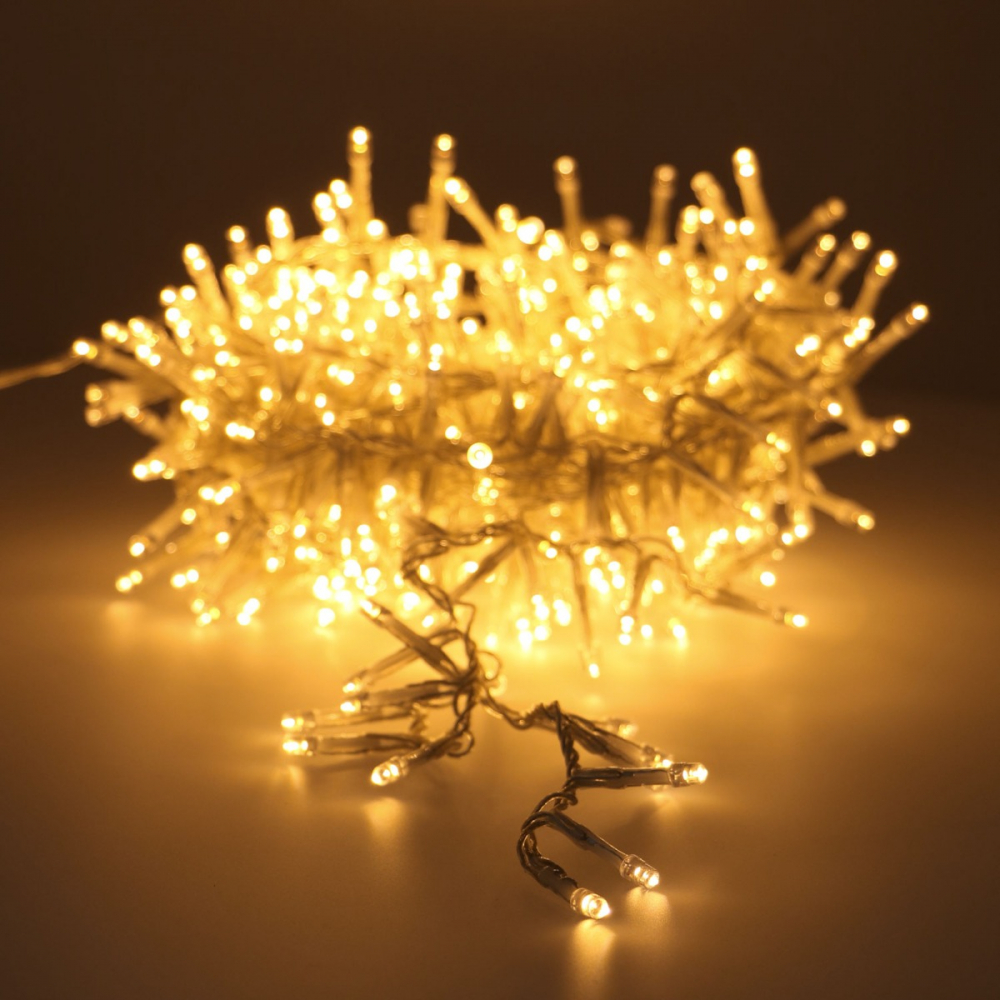 Cluster Lichterkette Transparente Schnur 560 Leds It S All About Christmas