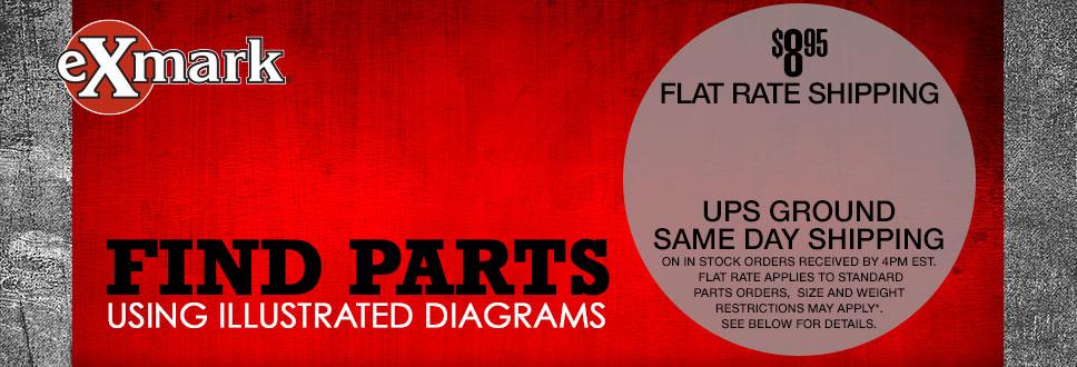 Exmark Parts Lookup - Weingartz