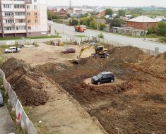 construction-island-parked-car