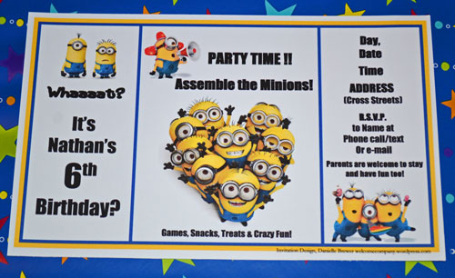 13 Best images about minion on Pinterest Minion birthday, Arrow - free birthday cards templates