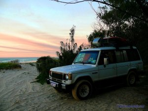 camping a la plage