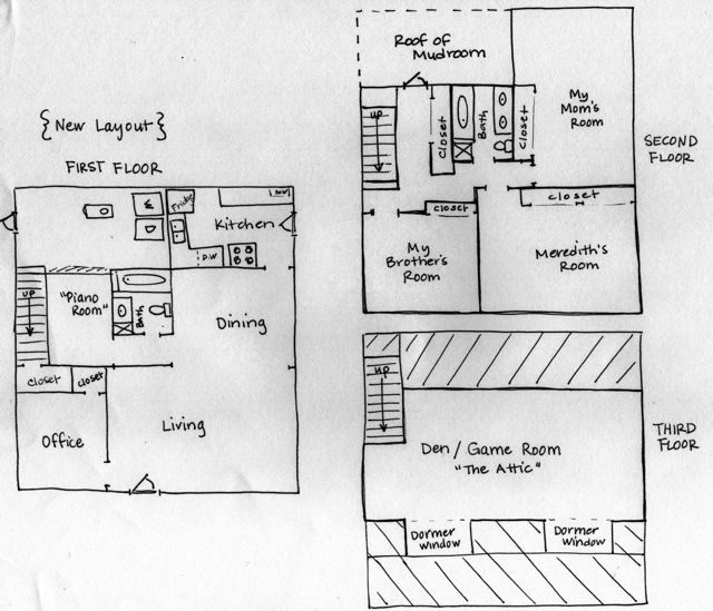 Graph Paper to Virtual Paper The Heardmont Floor Plan Welcome to