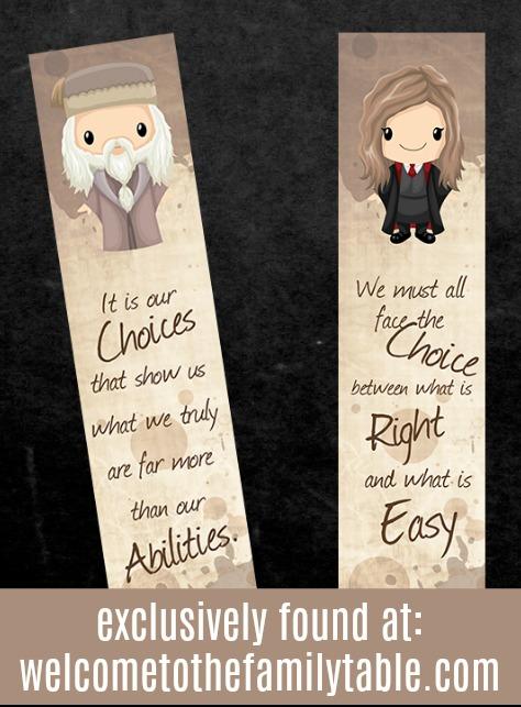 Harry Potter Book Marks + Labels \u2013 Learning to Speak Life Books™