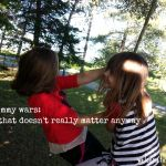The Mommy Wars:  Stuff That Doesn't Really Matter Anyway