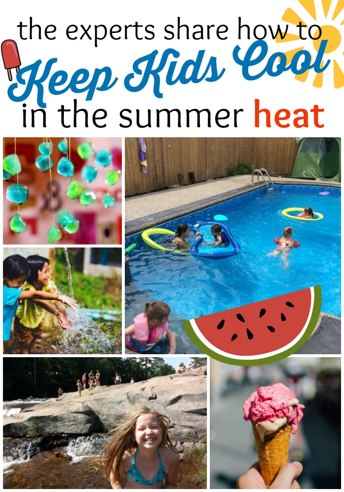 Cool It Great Ways To Keep Kids Cool During The Summer