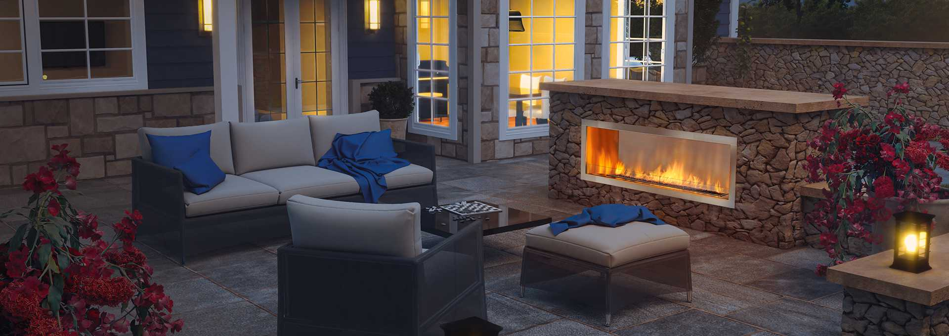 Outdoor Gas Fireplaces Regency Horizon Hzo60 Outdoor Gas Fireplace Welenco Stove Store