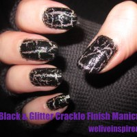DIY Cool Crackle Finish Nail Art for Halloween/Twilight Inspired Looks