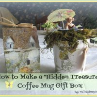 How to Turn a Coffee Mug in to a Unique Secret Compartment Gift Box