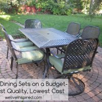 Tip of the Week-Where to Buy Low Cost Quality Patio Furniture and Dining Sets