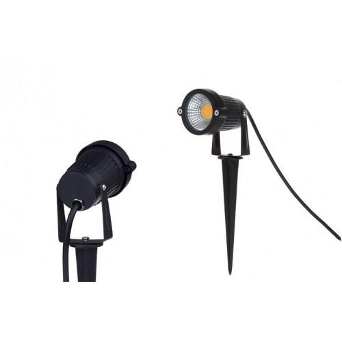 5W 12v\/230v COB LED Gartenlampe Gartenstrahler Spießstrahler - lampen ausen led
