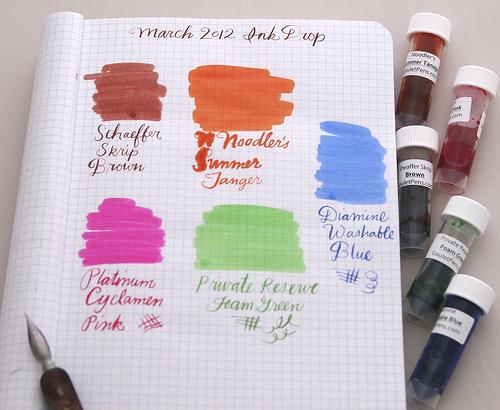 Ink Drop March 2012