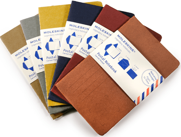 Moleskine Postal Notebook