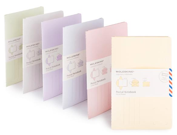 Moleskine Pastel Postal Notebook