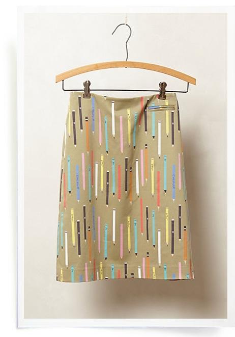 Antrho Pencil skirt