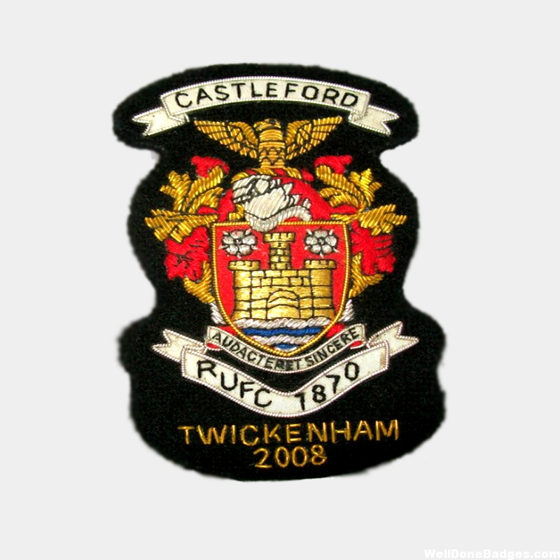 Blazer Coat of Arms Castleford Coat of Arms