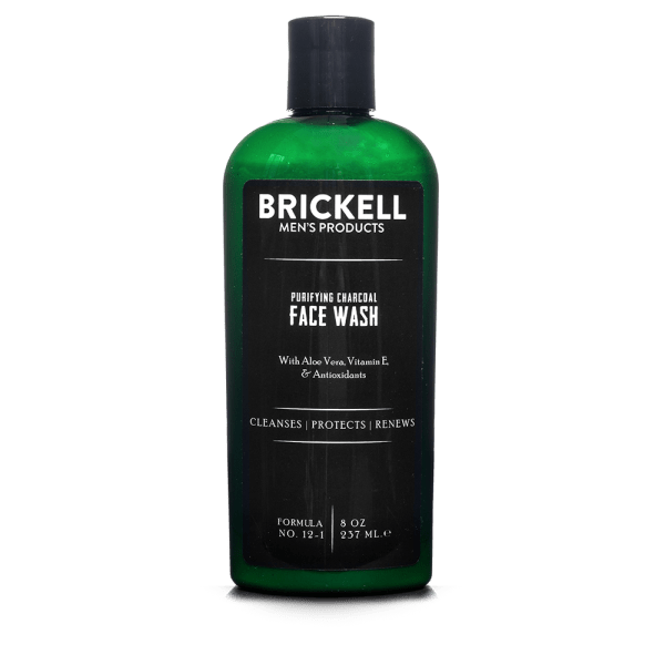 Brickell_Face Wash_Purifying Charcoal_8oz_front (1)