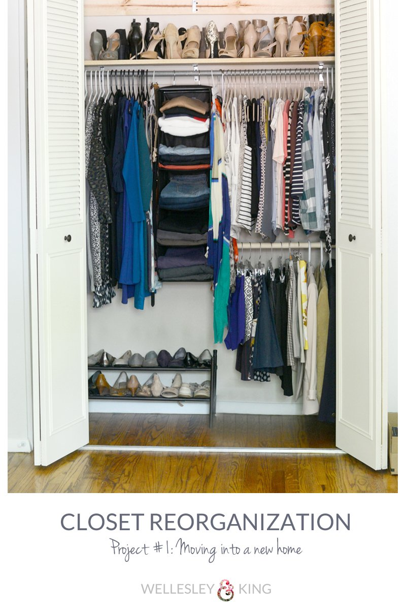 Closet Organization Closet Reorganization In 3 Easy Steps Wellesley King